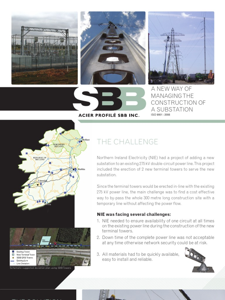 A New Way Of Managing The Construction Substation Electrical Cost Wiring House In Ireland Electric Power Transmission