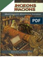Mordenkainen's Magnificent Emporium