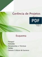 Gerencia de Projetos - Riscos