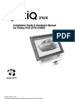 Cintiq21UX Manual