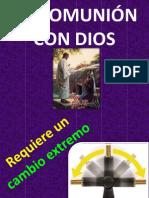 MI COMUNIÓN CON DIOS Jovenes