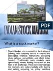 All About Indian Stock Market
