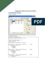 ian Menggunakan Software PowerGen for Windows