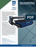 MultiCam 6000-Series CNC Plasma