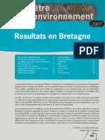 Baromètre Santé Environnement 2007 - Résultats en Bretagne