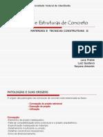 Patologias de Estruturas de Concreto Final