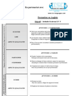 DOCUMENTS ISC Formation en Anglais Niv3.5