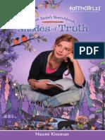 Shades of Truth by  Naomi Kinsman