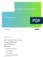 2.6 - Greater Hobart Urban Travel Demand Model