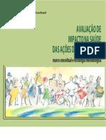 Avaliação do impacto de ações se saneamento