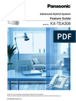 KX TEA308 Feature Guide and Programming Manual