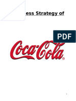 Business Strategy on Coca Cola