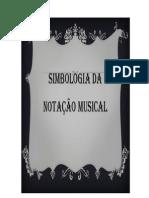 Símbologia da notação musical
