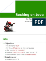 Rocking on Java