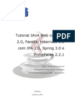 Tutorial JAVA Web Com JSF 2