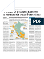 Proyectos Hoteleros en el Perú en se retrasan por Burocracia