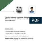 Anurag Kumar Resume