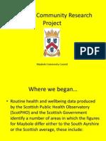 Maybole Community Research Project