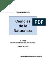 2011-12 - Física y Química - 2º ESO (Ciencias de la Naturaleza)