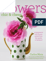 Flowers Chic and Cheap by Carlos Mota - Excerpt