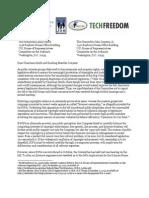 SOPA Coalition Letter