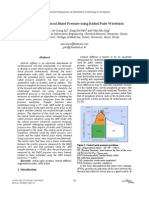 Estimation of Central Blood Pressure Using Radial Pulse Waveform