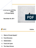 Presentation on Private Equity - Mrs Rupa Vora, IDFC