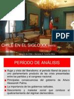 Chile en El Siglo XX, Desde 1925