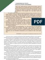 Comentario de Texto LA INTRUSA Pedro Orgambide