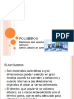 PRESENTACION,POLIMEROS