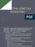 ALGORITMA GENETIKA SEDERHANA