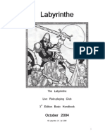 Handbook Labyrinthe 3 5