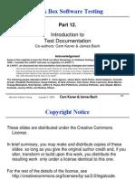 Black Box Software Testing - Part 12