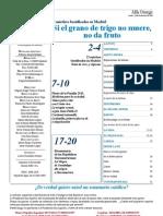 Semanario Católico Alfa y Omega. nº 764. 15 Diciembre 2011