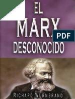 El Marx Desconocido Richard Wurmbrand