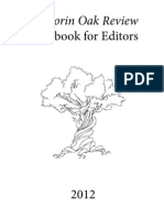 Sorin Oak Review Handbook for Editors