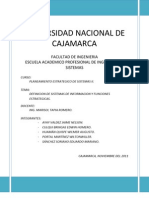 Definicion de Sistemas de información y Funciones Estrategicas