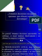 Programación Lieal-Díaz Arce