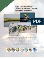 Early Restoration Plan - Draft 12-14-11