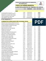 aprovados Prefeitura Olinda 2011 após recursos