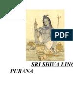 Shiva Linga Purana