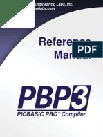 PBP Reference Manual