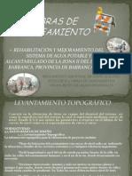 OBRAS DE SANEAMIENTO