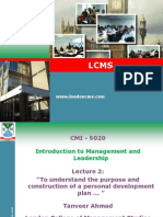 Itro to Mgt and Leadership 2