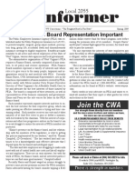 CWA Informer Spring 2009