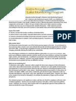 VLMP Program Summary External