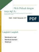 domain dan web hosting gratis