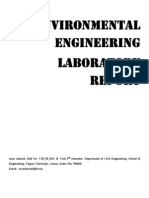 Environmental Engineering Lab report