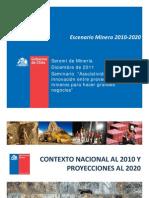 Pamela Ramírez, Ingeniera en Desarrollo Sustentable de la Secretaría Ministerial de Minería