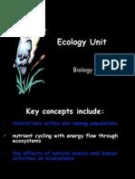 Ecology Black Slides